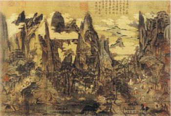 Xa giá Đường Minh Hoàng – Lý Tư Huấn(Li zi xun)